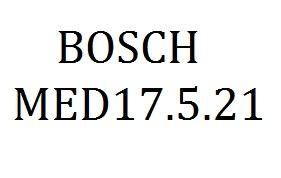 BOSCH MED17.5.21