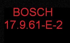 BOSCH 17.9.61 Стоки евро 2